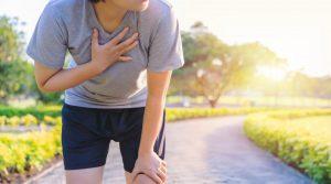 توقف درد قفسه سینه