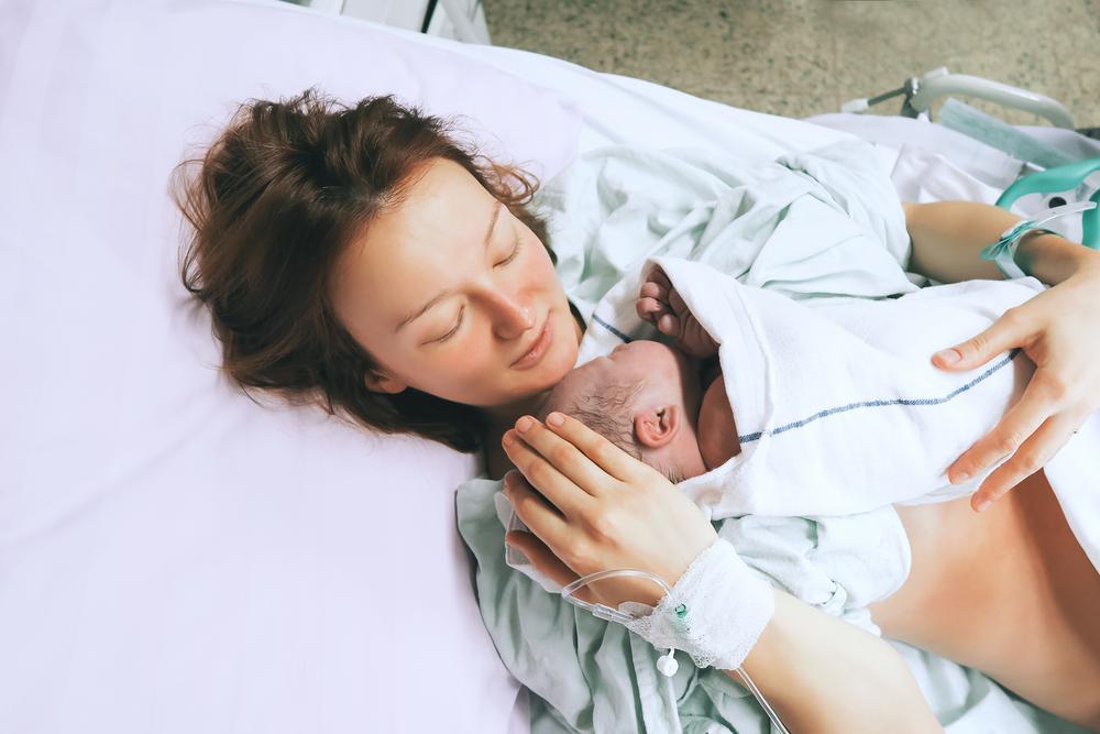 جنین در زایمان طبیعی