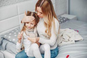 درمان تب در خانه با داروی گیاهی