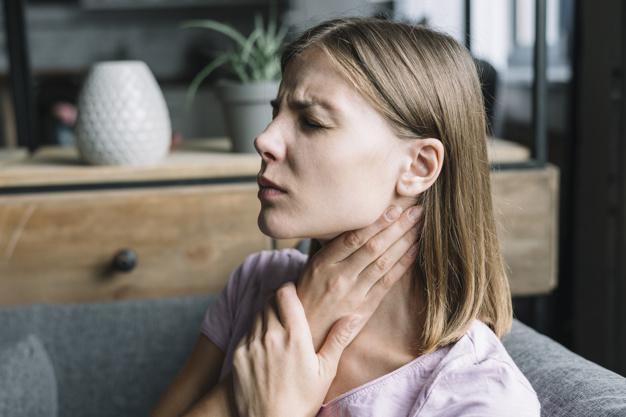 درمان سریع گلودرد در خانه