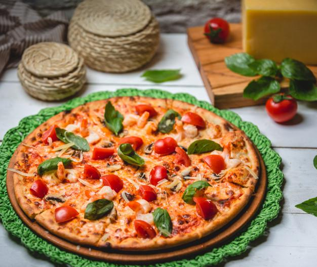 طرز پخت پیتزا