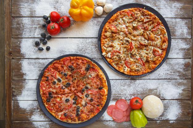 پیتزا ی سالم خانگی و رژیمی