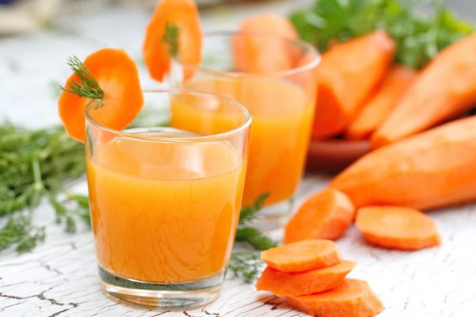 فواید بی نظیر خواص آب هویج