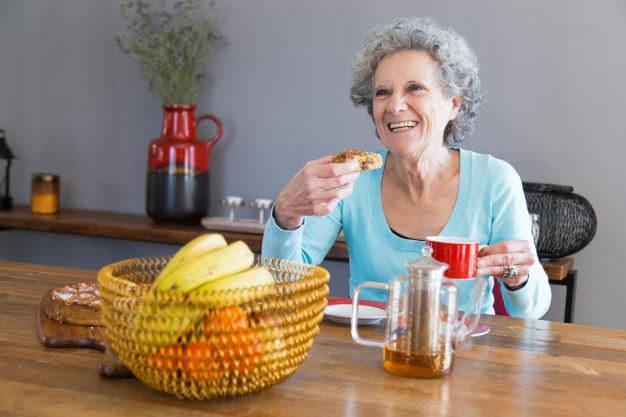 فواید رژیم غذایی سالمندان