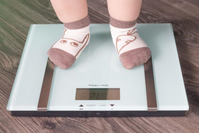 افزایش وزن کودک