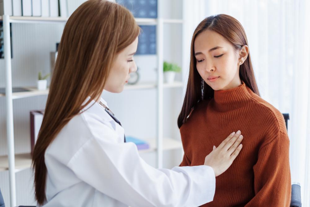 درمان درد سینه