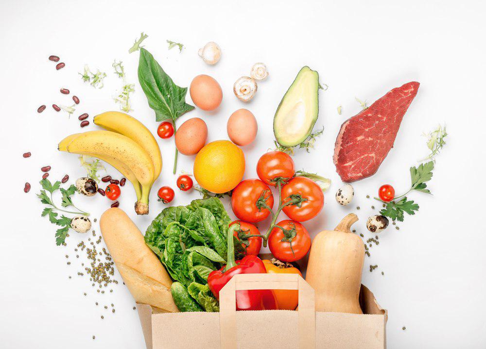 مواد غذایی رژیم زون
