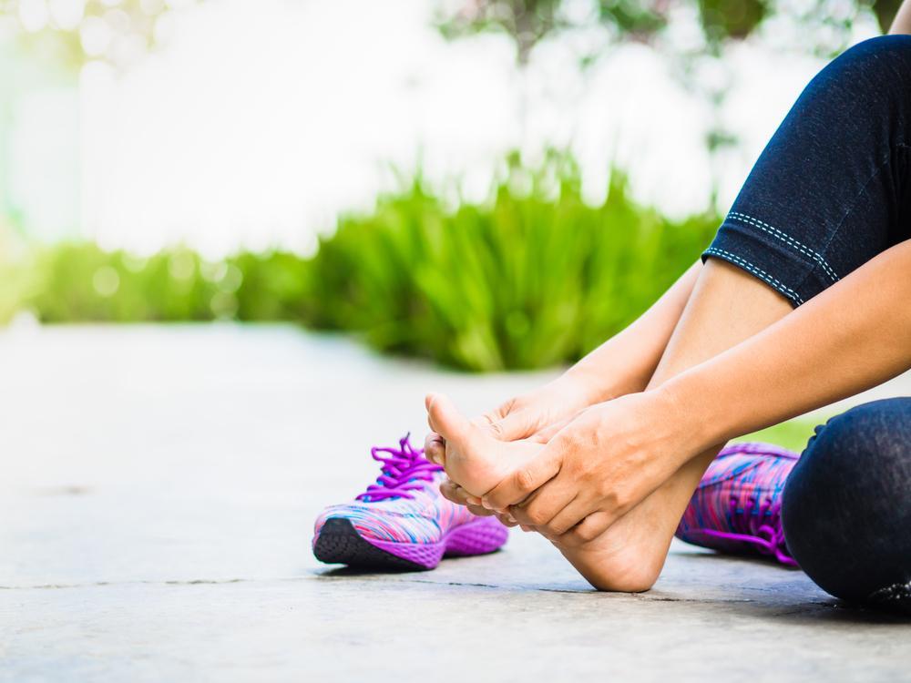 درد کف پا در بارداری