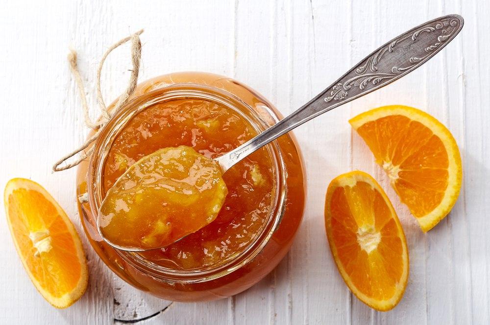 مربا پوست پرتقال بدون شکرک