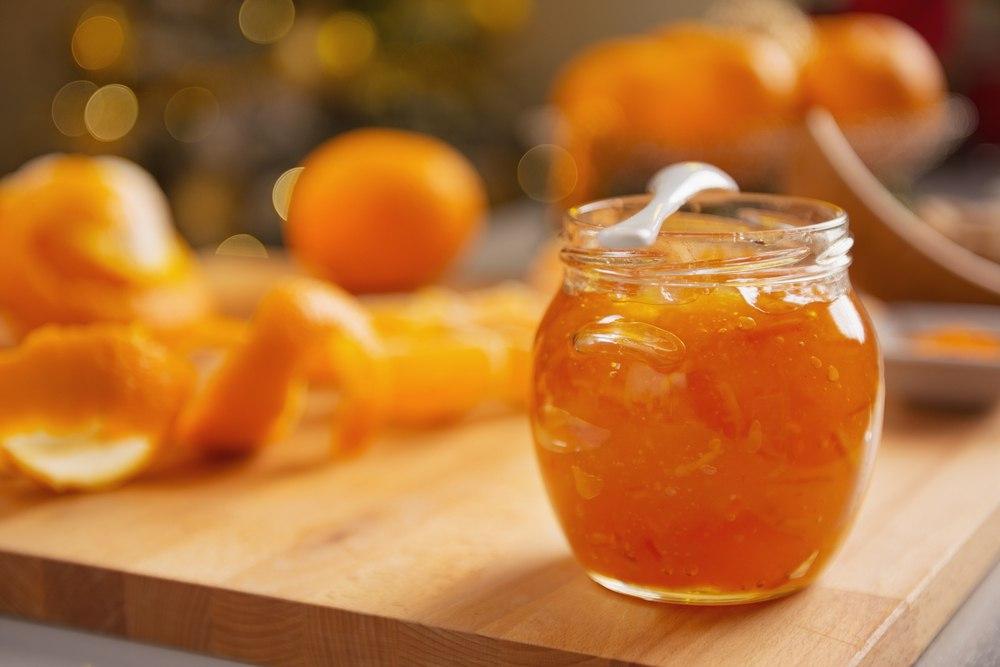 مربای پوست پرتقال خانگی