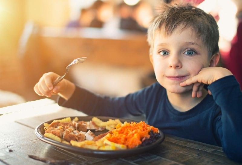 افزایش اشتهای کودکان با نخوردن فست فود