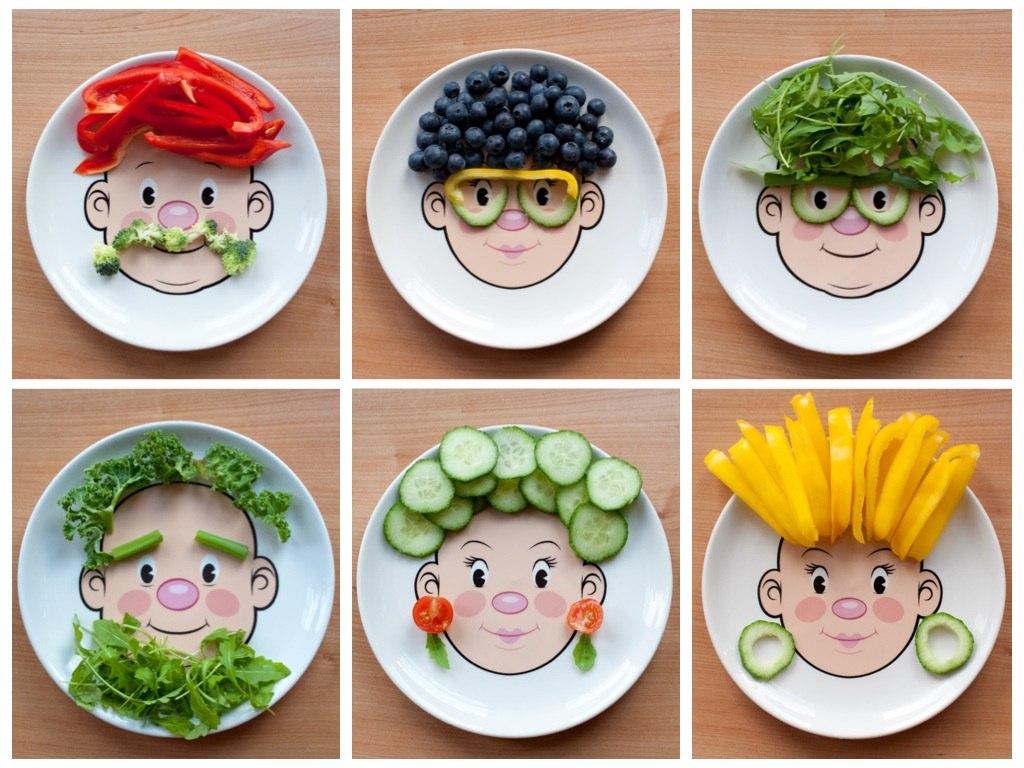 تزیین غذای کودک برای افزایش اشتها