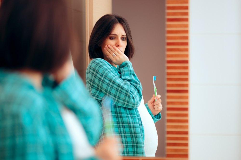 عوارض درد دندان در بارداری