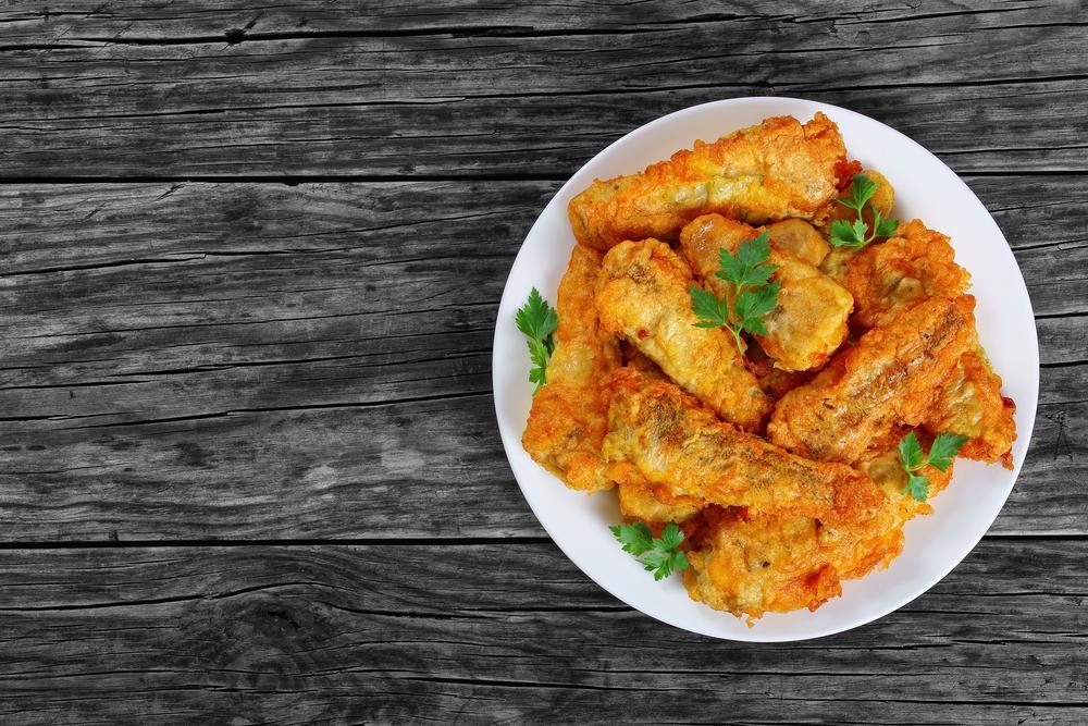 کالری و ارزش غذایی ماهی سوخاری