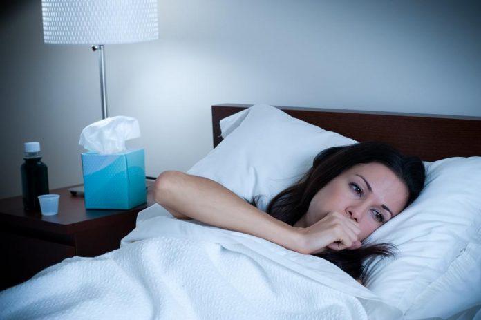 درمان سرفه شبانه