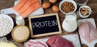 مواد غذایی پروتئین دار برای عضله سازی