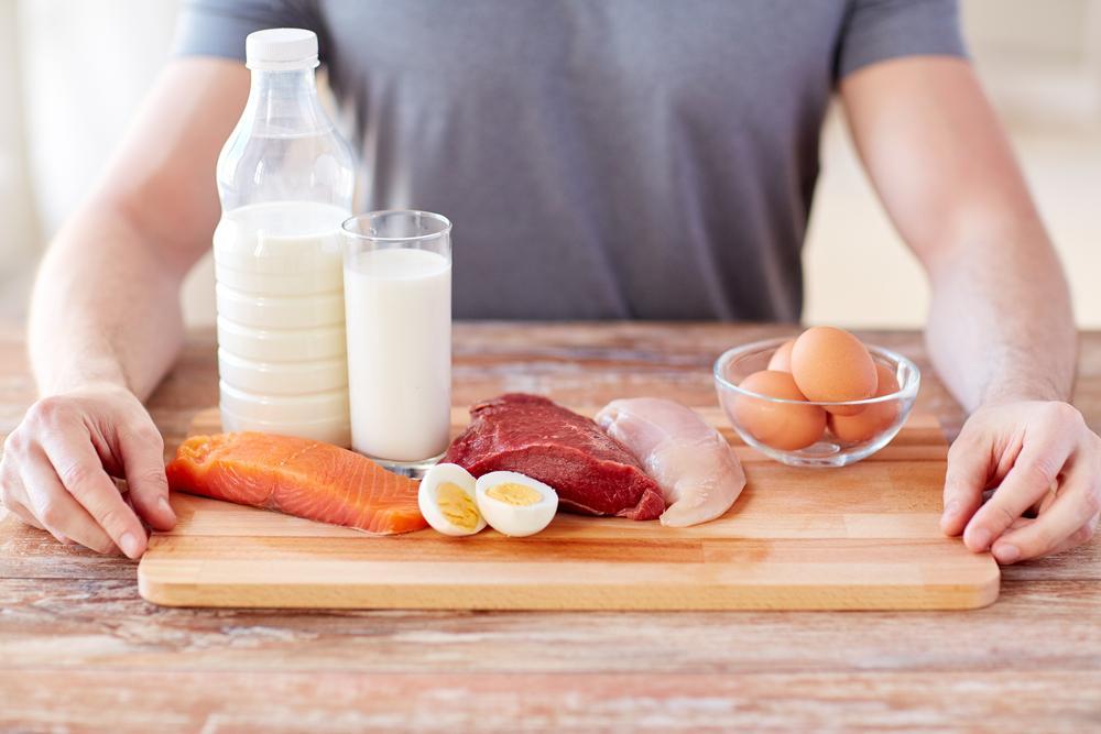 انواع مواد غذایی پروتئین دار برای عضله سازی
