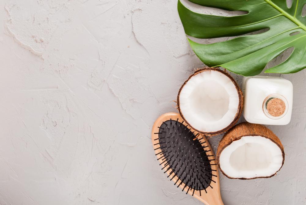 ماسک مو نارگیلی برای رشد سریع مو