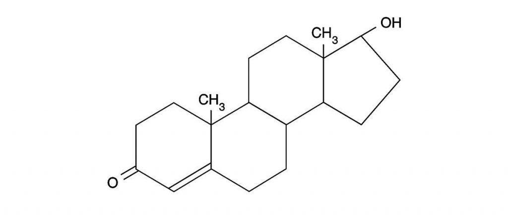 فرمول شیمیایی تستسترون