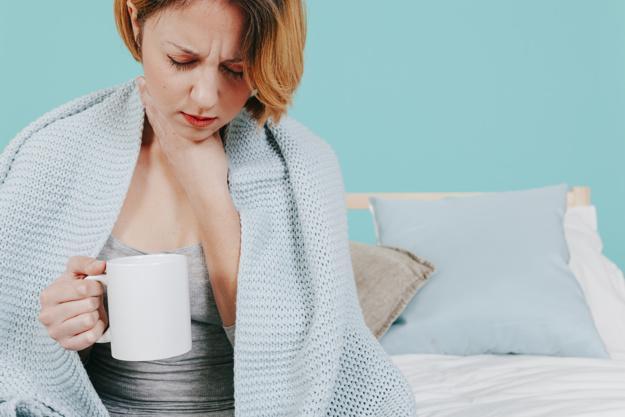 ترنگبین برای سرماخوردگی و گلودرد
