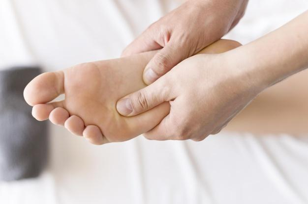 درد قوس کف پا