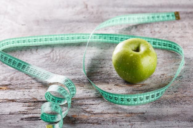 سیب برای لاغری