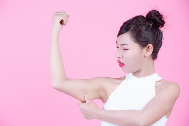 سلولیت در بازوها