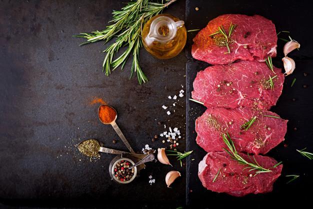 گوشت قرمز در رژیم پروتئین