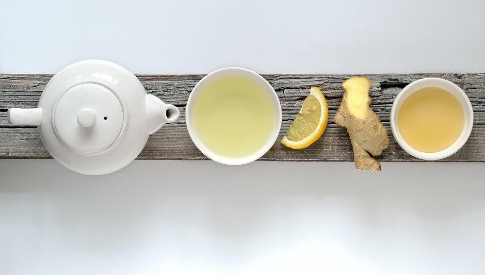 چای لاغری زنجبیل لیمو