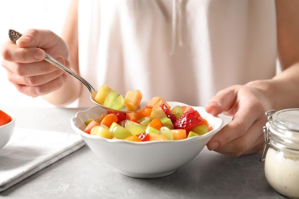 کوچک کردن شکم با مصرف میوه و سبزیجات