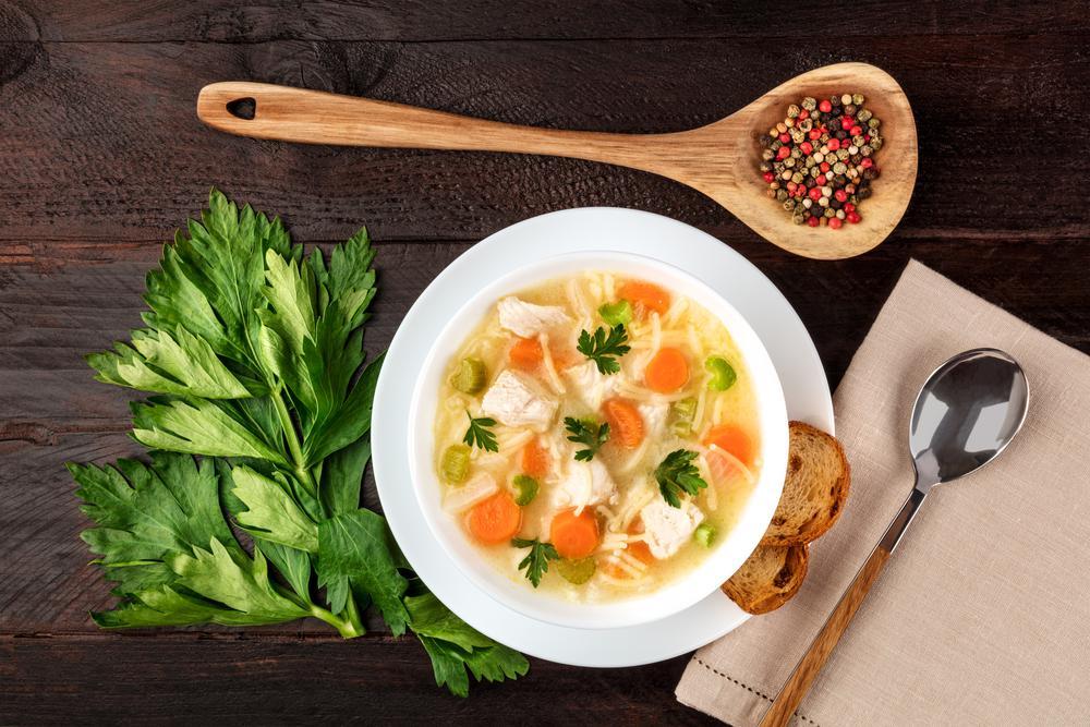 سوپ برای درمان آنفولانزا
