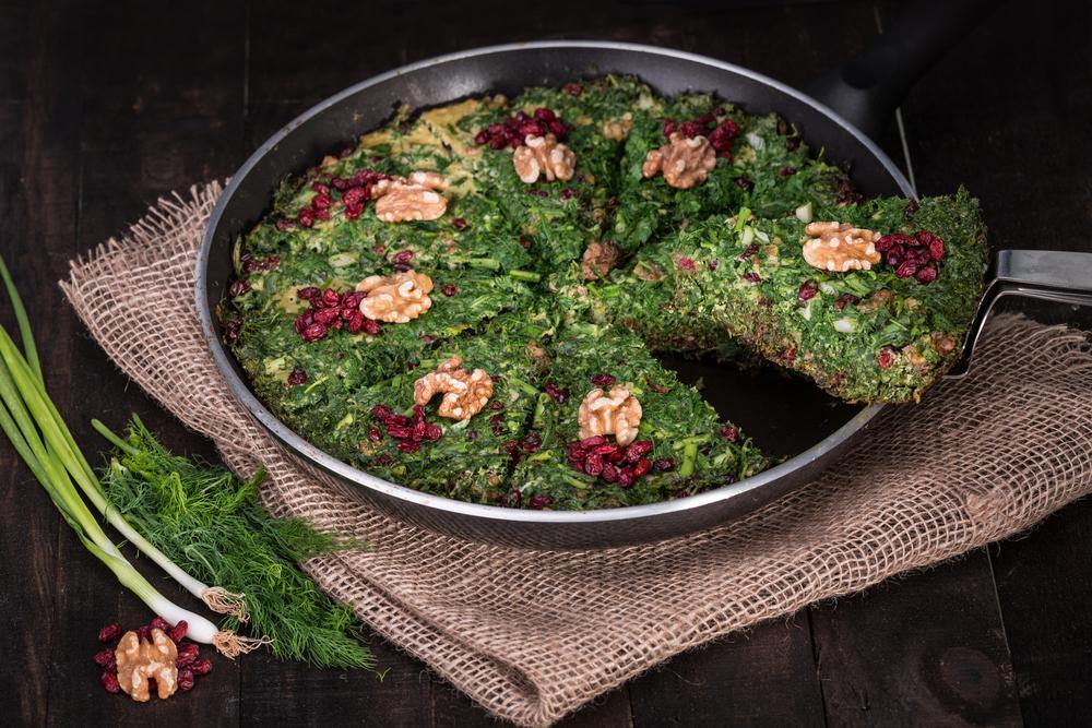 راهکاری برای وا نرفتن کوکو سبزی