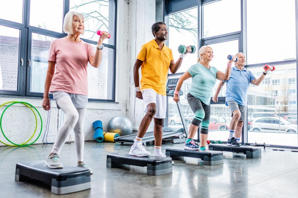 ورزش برای سنین بالای 50