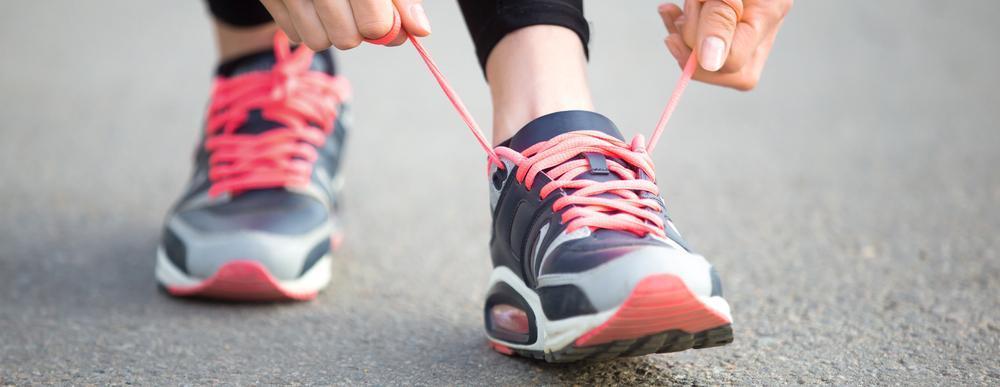 شروع پیاده روی برای لاغری