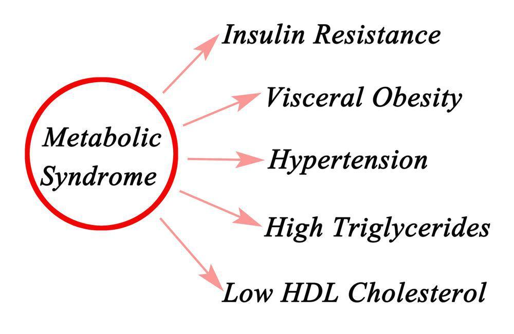 چه عواملی خطر ابتلا به سندرم متابولیک را بالا می برد؟