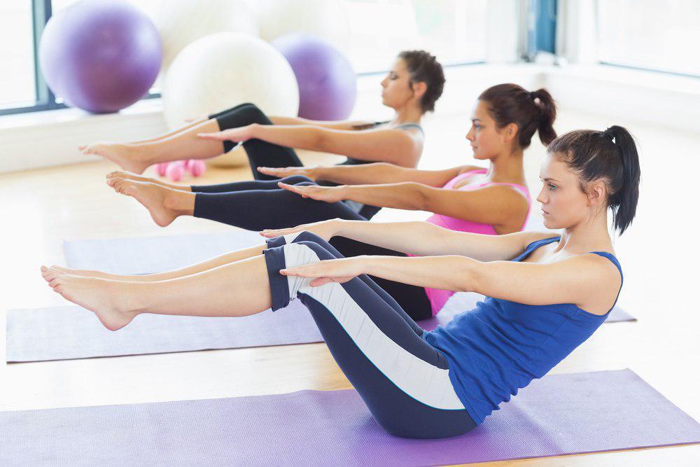 درمان تنبلی تخمدان با ورزش پیلاتس