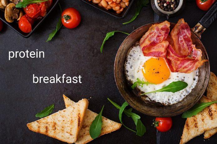 آموزش صبحانه پروتئینی