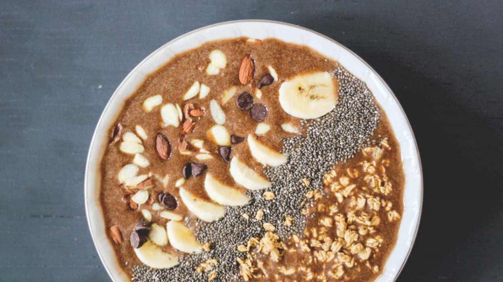 صبحانه پروتئینی اسموتی موکا موز
