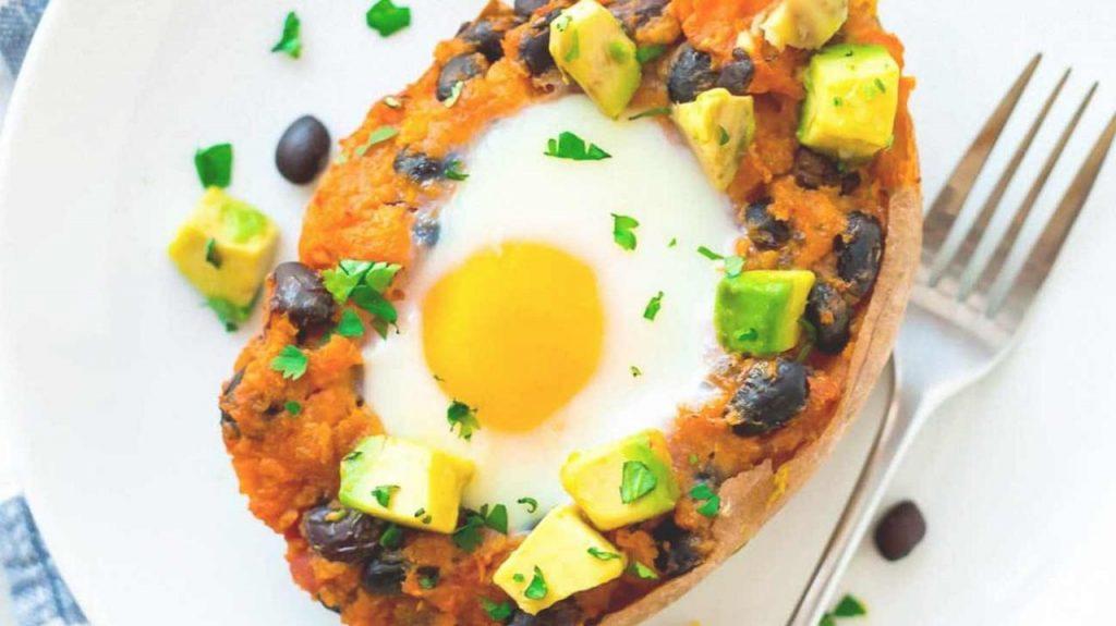 صبحانه مکزیکی پروتئینی