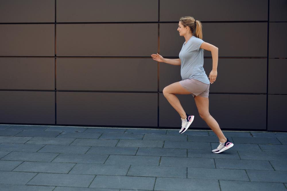 خطرات دویدن در دوران بارداری