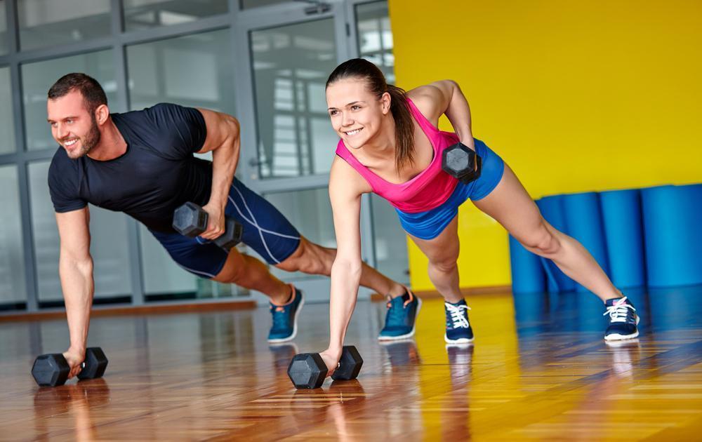 نظم تمرینات برای عضله سازی