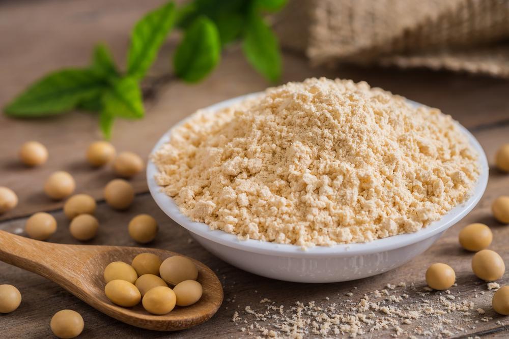 استفاده از پودر پروتئین سویا