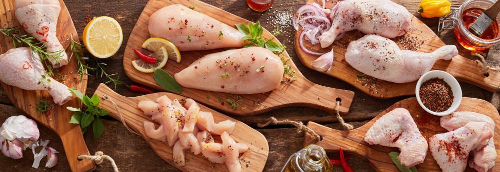 چربی و کالری و پروتئین مرغ