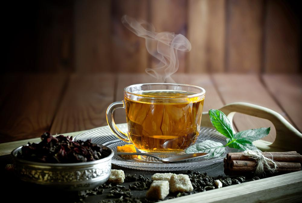 چای سبز و پاکسازی معده