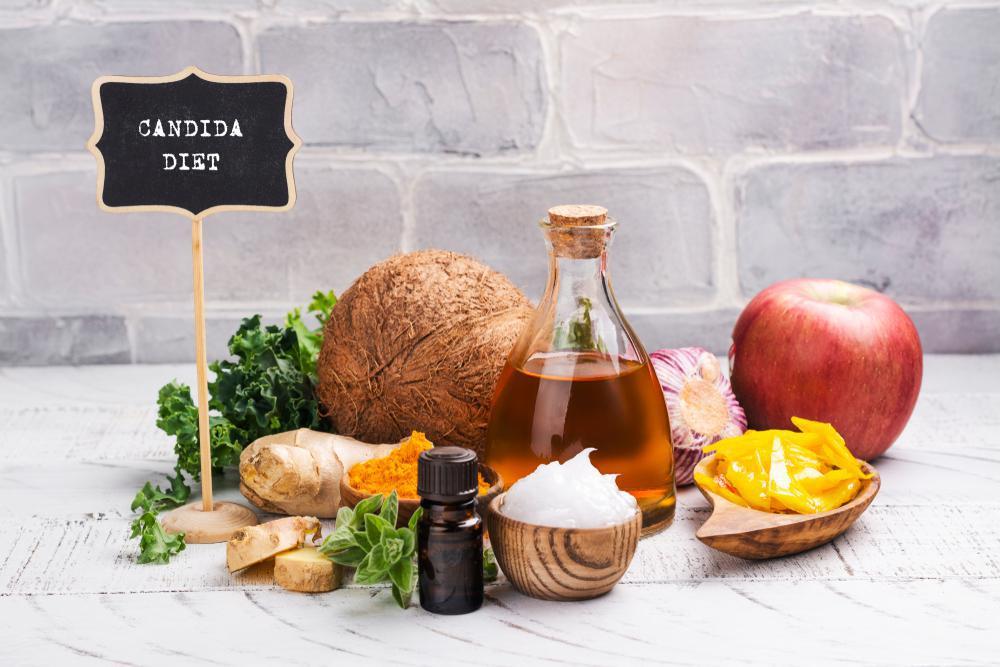 رژیم غذایی درمان قارچ کاندیدا