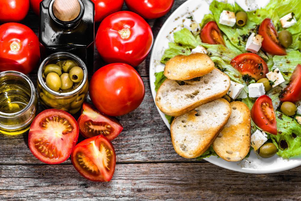 رژیم غذایی ایتالیایی با مصرف خوراکی های سالم