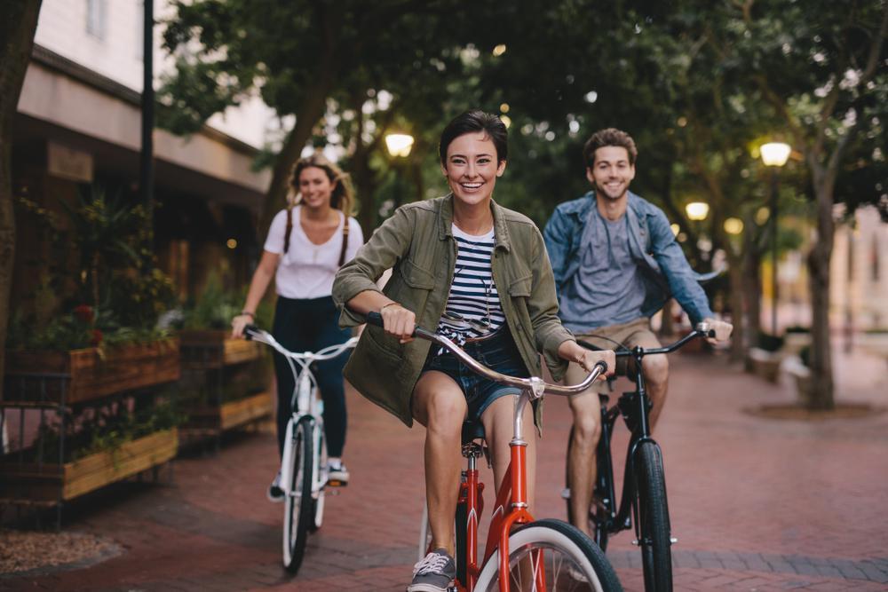 دوچرخه سواری و لاغری زانو و ران