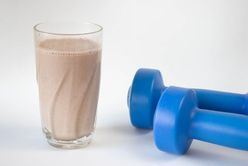 مصرف شیر کاکائو بعد از ورزش