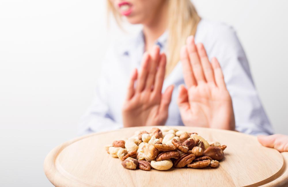 حساسیت غذایی به آجیل های درختی