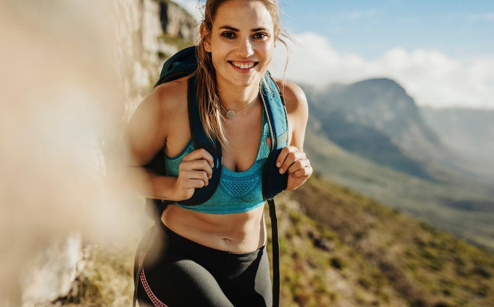 لاغری با کوهنوردی